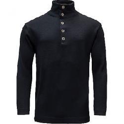 Devold Blaatrie Sweater Button Neck Deep Marine