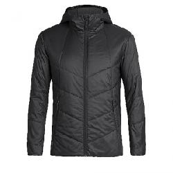 Icebreaker Men's Helix Hooded Jacket Black