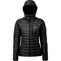 Rab Women's Microlight Alpine Jacket Black / Seaglass