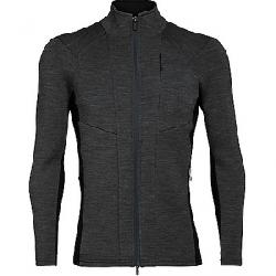 Icebreaker Men's Lucca LS Zip Jacket Jet Heather