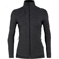 Icebreaker Women's Lucca LS Zip Jacket Jet Heather