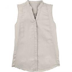 Nau Women's Aere Sleeveless Shirt Zinc Check