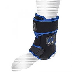 Shock Doctor Ice Recovery Ankle Compression Wrap Black