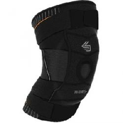 Shock Doctor Ultra Compression Knit Knee Support Full Patella Gel Black / Grey