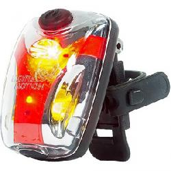 Light and Motion Vis 180 Micro Bike Tail Light Silver