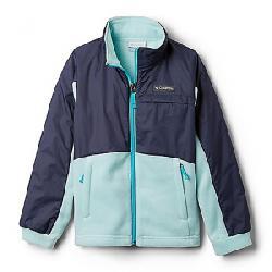 Columbia Youth Girls Benton Springs III Overlay Fleece Jacket Spray/Nocturnal