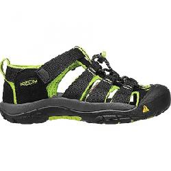 Keen Kids' Newport H2 Shoe Black / Lime Green