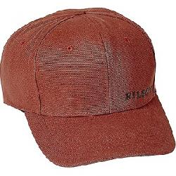 Filson Logo Canvas Logger Cap Rusted Red