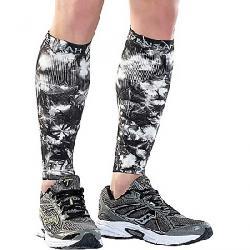 Zensah Compression Leg Sleeve Tie Dye Titanium