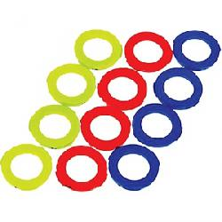 Magura 4 Piston Assorted Caliper Rings Neon Red / Neon Yellow / Blue