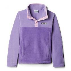 Columbia Youth Steens Mtn1/4 Snap Fleece Pull-Over Grape Gum/Paisley Purple
