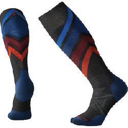Smartwool PhD Ski Medium Sock Charcoal Pattern