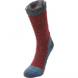 Fits Casual Crew Sock Stormy Weather / Red
