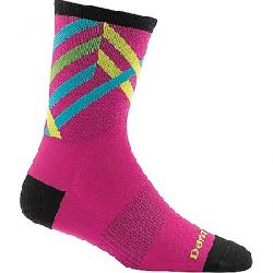 Darn Tough Women's Graphic Stripe Micro Crew Ultra-Light So Pink