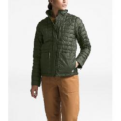 The North Face Women's ThermoBall Eco Snap Jacket New Taupe Green Heather / British Khaki