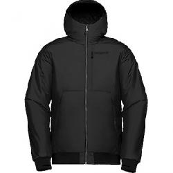 Norrona Men's Roldal Insulated Hooded Jacket Caviar