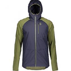 Scott USA Men's Explorair Ascent Polar Hoodie Blue Nights / Green Moss