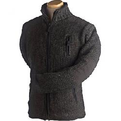 Laundromat Men's Oxford Fleece Lined Sweater Black Natural