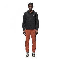 Hoodlamb Men's Quilted Jacket Shirt Black