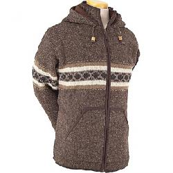 Laundromat Men's Wayne Fleece Lined Sweater Dark Natural