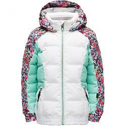 Spyder Girls' Bitsy Atlas Synthetic Down Jacket White