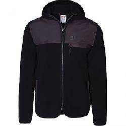 Topo Designs Men's Fleece Hoodie Black