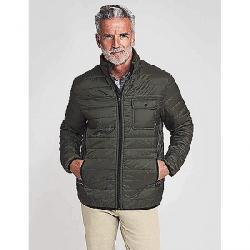 Faherty Men's Atmosphere Zip Jacket Olive