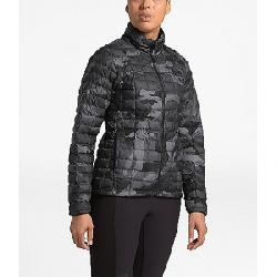 The North Face Women's ThermoBall Eco Jacket TNF Black Waxed Camo Print