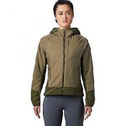 Mountain Hardwear Women's Kor Cirrus Hybrid Hoody Light Army