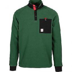 Topo Designs Men's Mountain Fleece Jacket Forest/Black