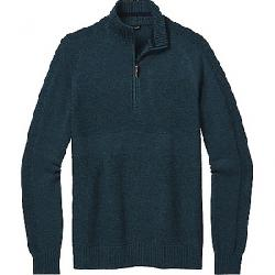 Smartwool Men's Ripple Ridge Half Zip Sweater Deep Navy Heather / Prussian Blue Heather
