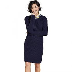 Toad & Co Women's Lakeview Sweater Dress True Navy