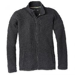 Smartwool Men's Hudson Trail Fleece Full Zip Jacket Dark Charcoal