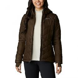 Columbia Women's Heavenly Hooded Jacket Olive Green