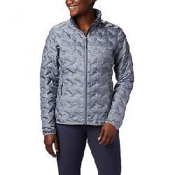 Columbia Women's Delta Ridge Down Jacket Tradewinds Grey Heather Print