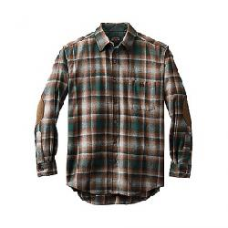 Pendleton Men's Long Sleeve Trail Shirt w/ Elbow Patch Green/Grey Ombre