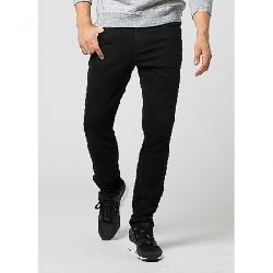 DU/ER Men's Fireside Denim Slim Pant Jet Black