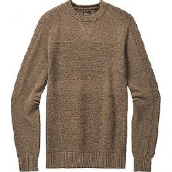 Smartwool Men's Ripple Ridge Crew Sweater Camel Heather / Military Olive Heather