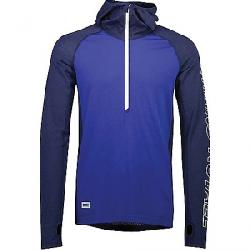 Mons Royale Men's Temple Tech Hood Top Navy/Electric Blue
