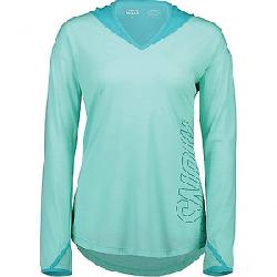 Mons Royale Women's MTN x Hood LS Top Tropicana / Peppermint