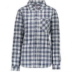 Obermeyer Women's Avery Flannel Jacket Icy Mey Plaid