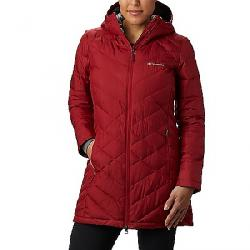 Columbia Women's Heavenly Long Hooded Jacket Beet
