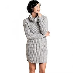 Toad & Co Women's Chelsea Turtleneck Dress Light Heather Grey