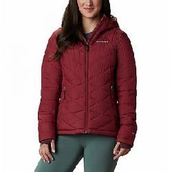 Columbia Women's Heavenly Hooded Jacket Marsala Red