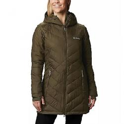 Columbia Women's Heavenly Long Hybrid Jacket Olive Green