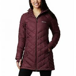 Columbia Women's Heavenly Long Hooded Jacket Malbec