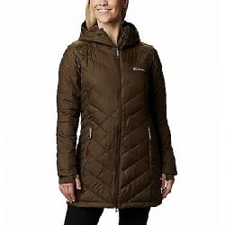 Columbia Women's Heavenly Long Hooded Jacket Olive Green