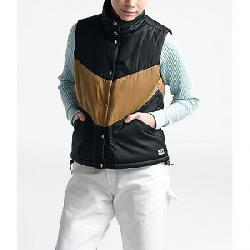 The North Face Women's Sylvester Vest TNF Black / Cedar Brown