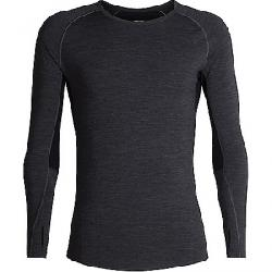 Icebreaker Men's 200 Zone LS Crewe Top Jet Heather / Black
