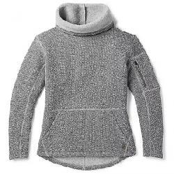 Smartwool Women's Hudson Trail Pullover Fleece Sweater Light Gray